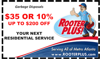 $35 off Atlanta Residential Garbage Disposal Repair