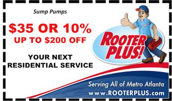 $35 off Atlanta Residential Sump Pump Repair